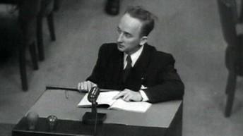 Benjamin Ferencz,  U.S. Chief Prosecutor of the Einsatzgruppen Trial in Nuremberg