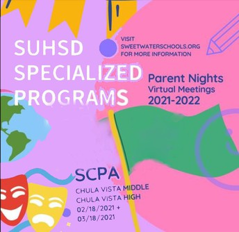 SCPA Information Night