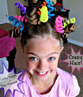 NOVEMBER 3:  CRAZY HAIR DAY