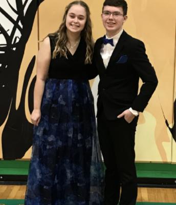 Sophomore Prince/Princess Candidates Annie Langford & L.J. Witt