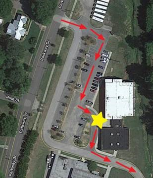 map of where to drop off chromebooks