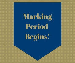 Start of the 3rd Marking Period