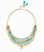 Isa Disk necklace