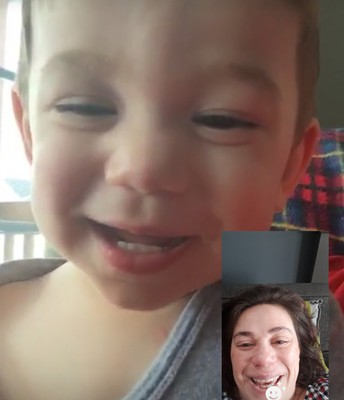 Facetime with Milo!