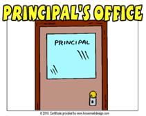 Mrs. Berg, Principal