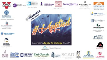November it is Georgia Apply to College (GAC) Month!