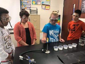 7th grade Bunsen Burner Lab