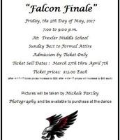 Falcon Finale Invitation