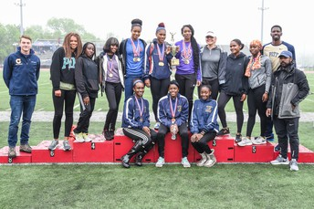 Lady Panthers Extend District 1 Track and Field Championship Streak to Six