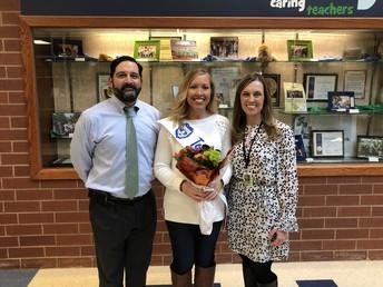 LVE's Teacher of the Year - Mrs. Heather Cox