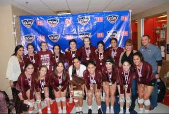 Volleyball Back to Back State Champs!