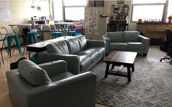 Classroom Furniture Purchased with Donors Choose