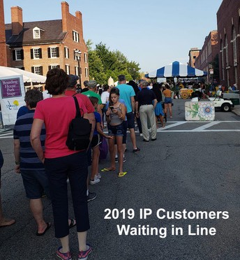 IP Strong Lowell Booth Fundraiser Continues