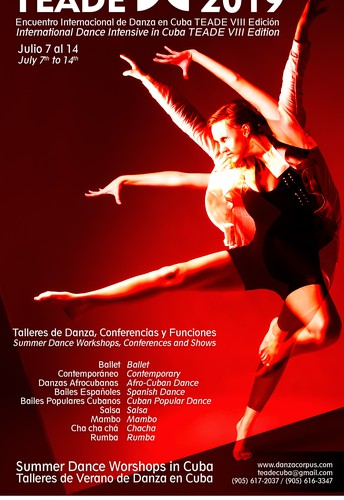 Intensive week of Dance Workshops , Conferences , Shows and more in Matanzas, Cuba