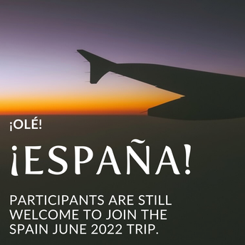 Spain 2022 - Come fly with me!