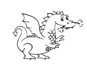 Original Didley the Dragon