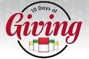 TEN DAYS OF GIVING