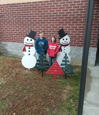 Snowmen by Deacon Mitchell and Abby Troutt