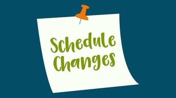 Grade 2 Hybrid Schedule Change Reminder