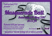 PTA Masquerade Ball - Save the Date