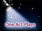 SAVE THE DATE: One Act Play Night- Nov 3rd