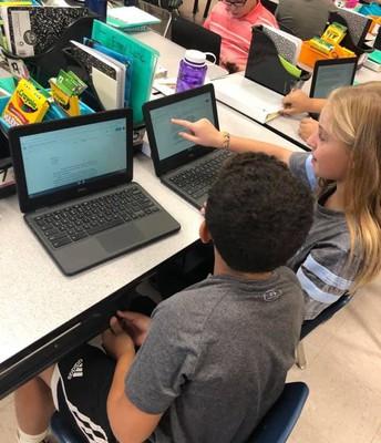 5th Grade Peer Editing