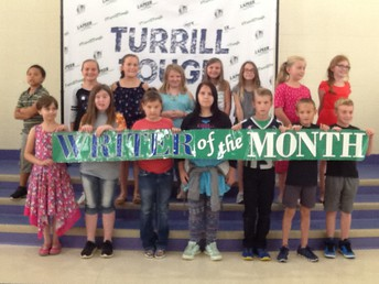 2/3-5th Grade August and September Writers of the Month