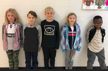 2nd Grade Citizens of the Month