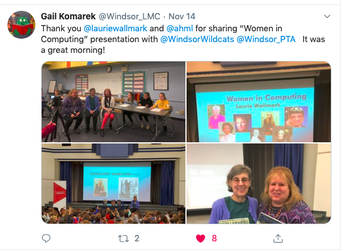 Laurie Wallmark Author Visit