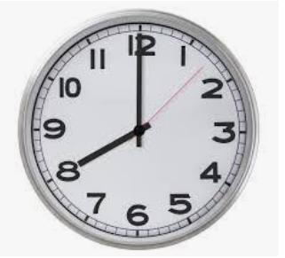 School Begins at 8:00 am (M, T, Th, F)