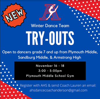 Winter Dance Team Try-Outs