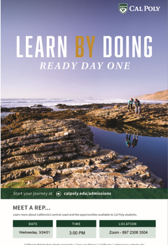Cal Poly SLO Information Session: March 24
