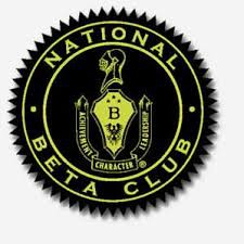 Beta Club Project - April 19th - May 16th
