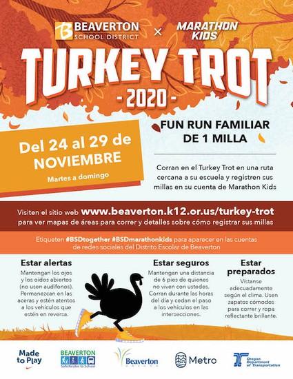 Turkey Trot Spanish Flyer
