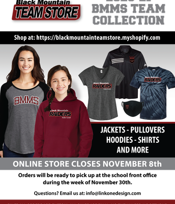 Need some BMMS Apparel?