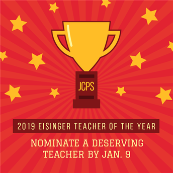 Teacher of the Year Nominations Open