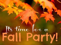Fall Parties - YOU'RE INVITED, PARENTS!
