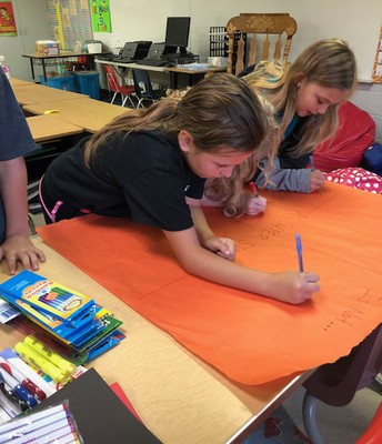 Students Help Create Classroom Rules
