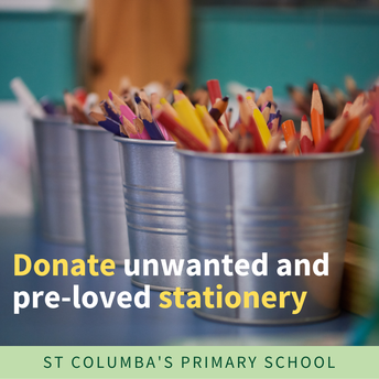 Donate Unwanted and Pre-Loved Stationery