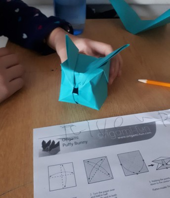 Mindful Monday origami for the win!