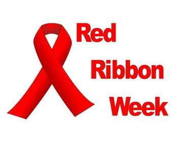 Red Ribbon Week October 28th-November 1st