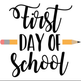 First Day of School: Tuesday, September 3rd