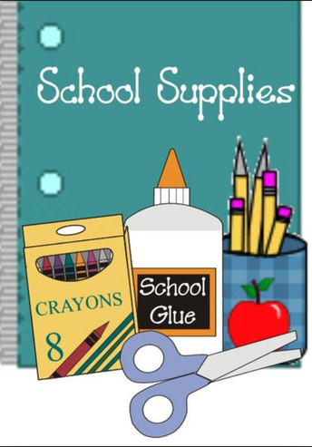 School Supply Sale for BSES Students Entering Grades 1-5 Next September!