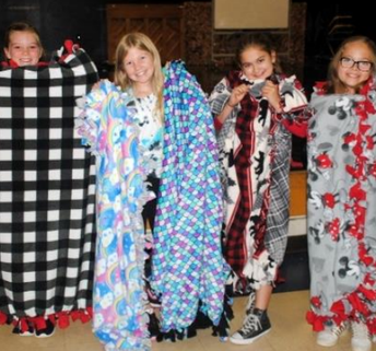 Project Cuddle-Up Blanket Drive