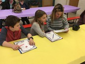 Students shared their Stories with parents and friends