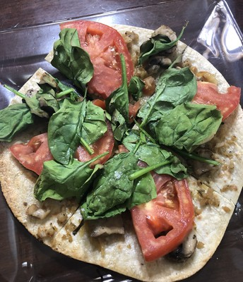 Easy pizza BUT OH SO GOOD!