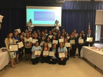 Proyecto 2 de Padres INSPIRE y graduación Programa de Educación de la Comunidad
