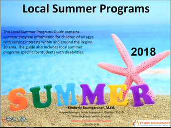 What's in the Summer Local Programs Guide?