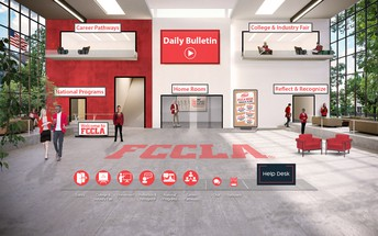 FCCLA Virtual Leadership Experience  - Great Way to Integrate FCCLA into the Classroom!