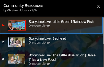 ...Ohrstrom Library hosts a live, virtual storytime?